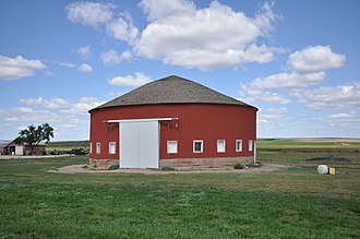 Jones County, South Dakota - Image: Jones County SD Freier Round Barn