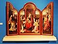 Joos van Cleve (1525-1530) Tritychon mit thronender Madonna.jpg