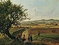 Josef Rebell - Ansicht der Herrschaften Schloss Emmersdorf und Rothenhof mit Stift Melk im Hintergrund - 5022 - Kunsthistorisches Museum.jpg