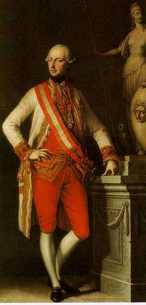 Kettle War - Joseph II, initiator of the Kettle War.