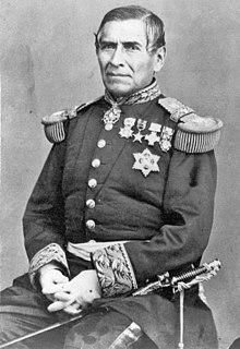 Mexican general, diplomat and regent