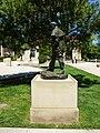 Jules Bastien-Lepage sculpture by Rodin; left side.JPG