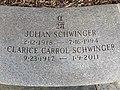 Julian Schwinger headstone.JPG