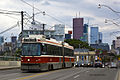 July 2012 TTC Street Car on Queen Street at Don River (7524496366).jpg