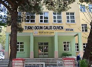 İmam Hatip school - An imam hatip school in Kırklareli