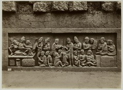 KITLV 28046 - Kassian Céphas - Relief of the hidden base of Borobudur - 1890-1891.tif