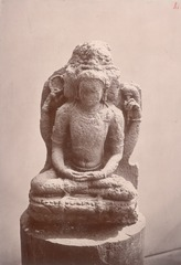 KITLV 87591 - Isidore van Kinsbergen - Hindu-Javanese sculpture coming from the Dijeng plateau - Before 1900.tif