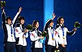 KOCIS Korea ShortTrack Ladies 3000m Gold Sochi 46 (12629491483).jpg