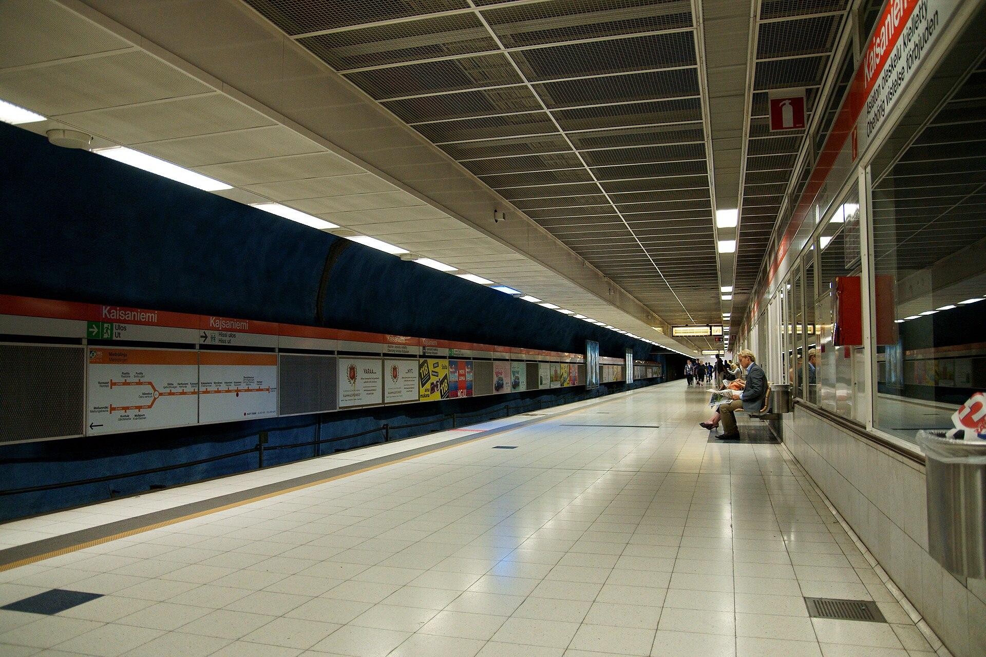 university of helsinki metro station