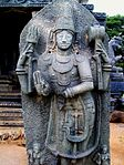 Hindu temples inscriptions and sculptures