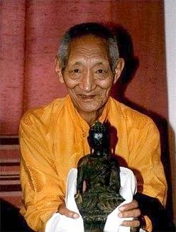 Kalu Rinpoche Tibetan lama