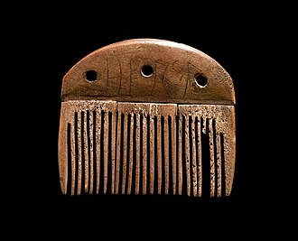 Vimose inscriptions - The Vimose Comb is housed at the National Museum of Denmark.