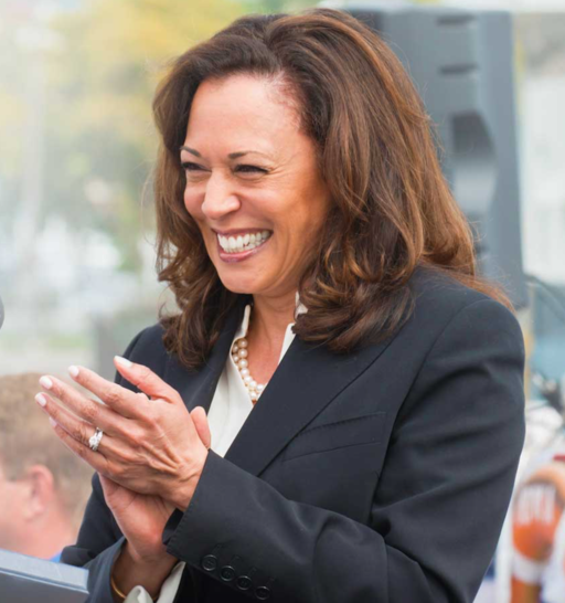 "Kamala Harris ""I Want to Hear From You"" (cropped)"
