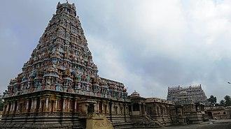 Kampaheswarar Temple, Thirubuvanam - Image: Kampaheswara 2