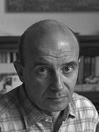 Karel Kuklík, portrét Kamila Lhotáka, 60. léta.jpg