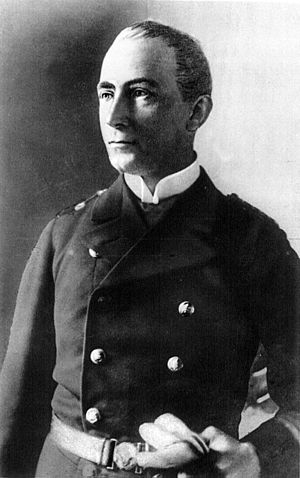 SMS Emden - Karl von Müller, who served as the ship's commanding officer from 1913