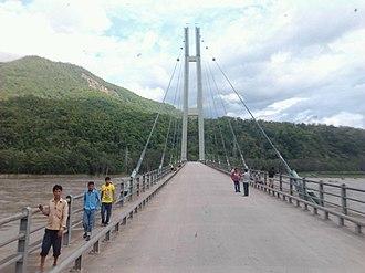 Karnali Pradesh - Image: Karnali bridge