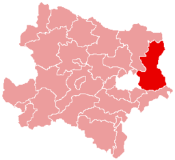 Bezirk Gänserndorf location map