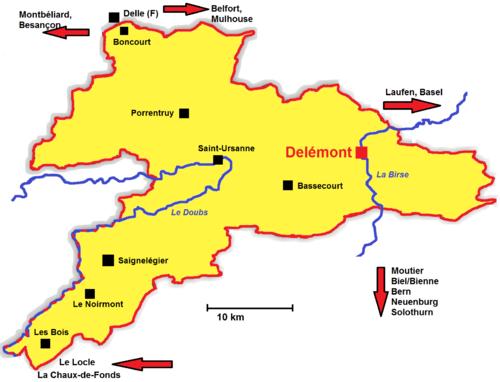 Jura (Kanton) – Reiseführer auf Wikivoyage