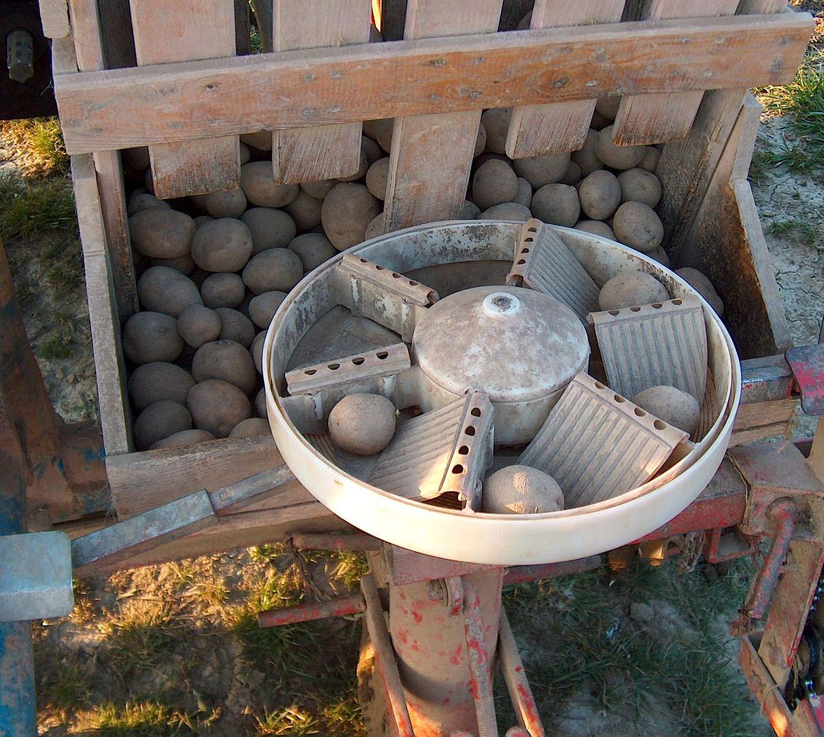 Planteuse de pommes de terre wikip dia - Machine pour ramasser les pommes ...