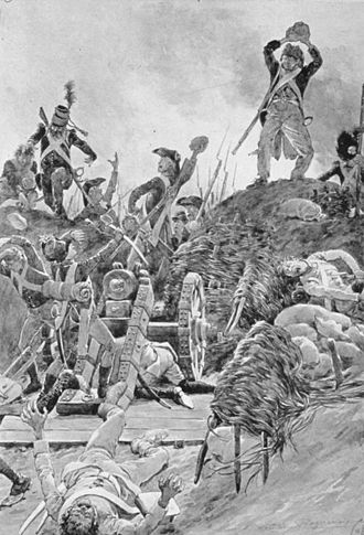 Siege of Hüningen (1796–97) - French troops overwhelmed the Swabian militia at Kehl on 24 June 1796