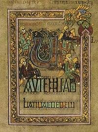 Le folio 285r, dit Una autem sabbati valde, a été rédigé par le copiste appelé «Main A».