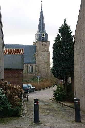 Heinenoord - Heinenoord, church