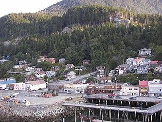 Ketchikan from Tongass Narrows, Alaska 6.jpg