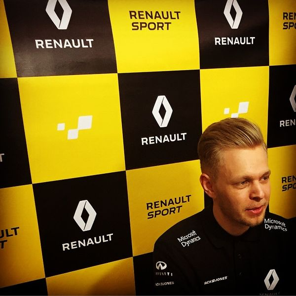 Danish F1 driver Kevin Magnussen.