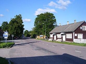 Kihelkonna - Centre of Kihelkonna.