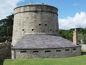 1804 in Ireland - Martello tower (South No.7) at Killiney
