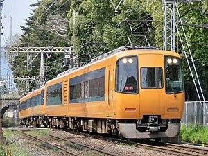 Kintetsu 16400 series - A 16400 series set on the Yoshino Line in 2014