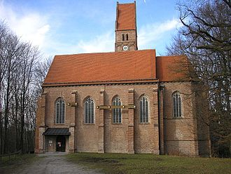 Wittelsbach Castle - Image: Kirche Beatae Mariae Virginis Oberwittelsbach
