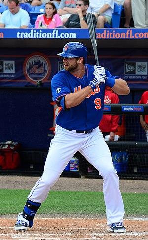Kirk Nieuwenhuis - Nieuwenhuis with the New York Mets