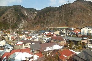 Kiso, Nagano (town) - Center of Kiso town