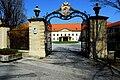 Klagenfurt Völkermarkter Vorstadt Mariannengasse bischöfliche Residenz 07042009 3791.jpg