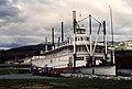 Klondike sternwheeler in Whitehorse, Yukon, in 1987 (50043404432).jpg