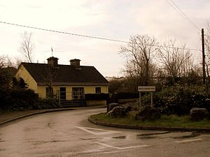 Newmarket-on-Fergus - Image: Knock Saggart Road