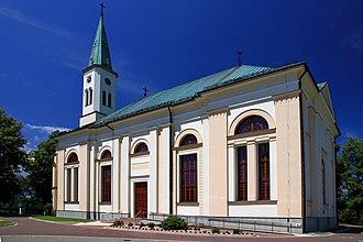 Ustroń - Image: Kościół Ewangelicko Augsburski w Ustroniu 1