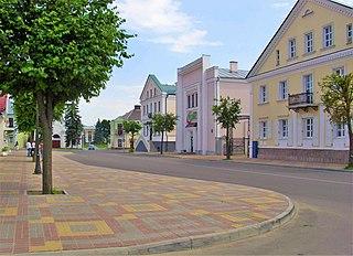 Kobryn Place in Brest Region, Belarus