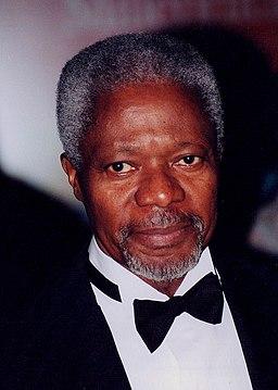 Kofi Annan in Washington D.C (cropped)