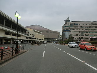 Koi Suru Fortune Cookie - Street in front of HKT48 theatre, one of filming points of the music video
