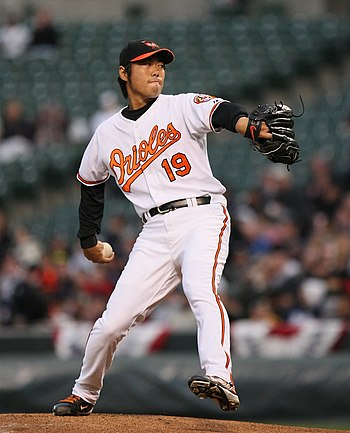 English: Koji Uehara, Baltimore Orioles