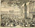 Komste van Zyne Majesteit Willem III. koning van Groot Britanje, enz. in Holland, of, Te omstandelyke beschryving van alles, - het welke op des zelfs komste en geduurende zyn verblyf, in's (14559190720).jpg