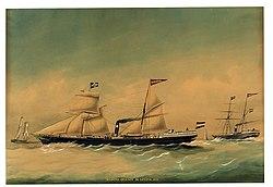 Koninklijke Nederlandsche Stoomboot Maatschappij Ondine 1856.jpg