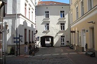 Convent Yard, Riga