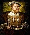 Kopie naar Joos van Cleve - Hendrik VIII - Hever Castle 8-05-2017 12-08-10.JPG