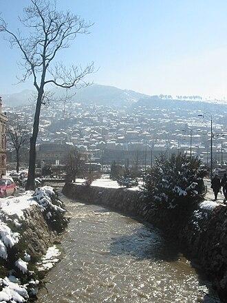 Centar, Sarajevo - Image: Kosevski potok