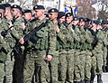 Kosovo Armed Forces In Line For Parade.jpg