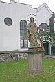 Kostel sv. Jana Křtitele, Bratranců Veverkových, Pardubice - socha sv. Anny 02.JPG